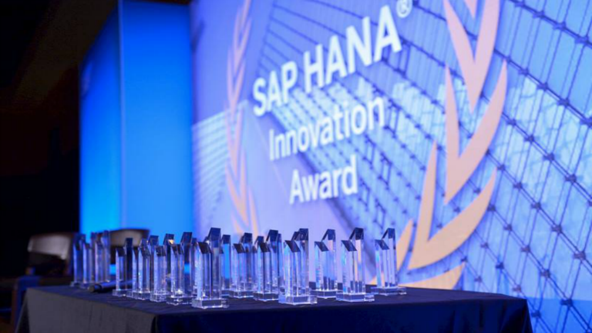 The SAP Innovation Award Winners